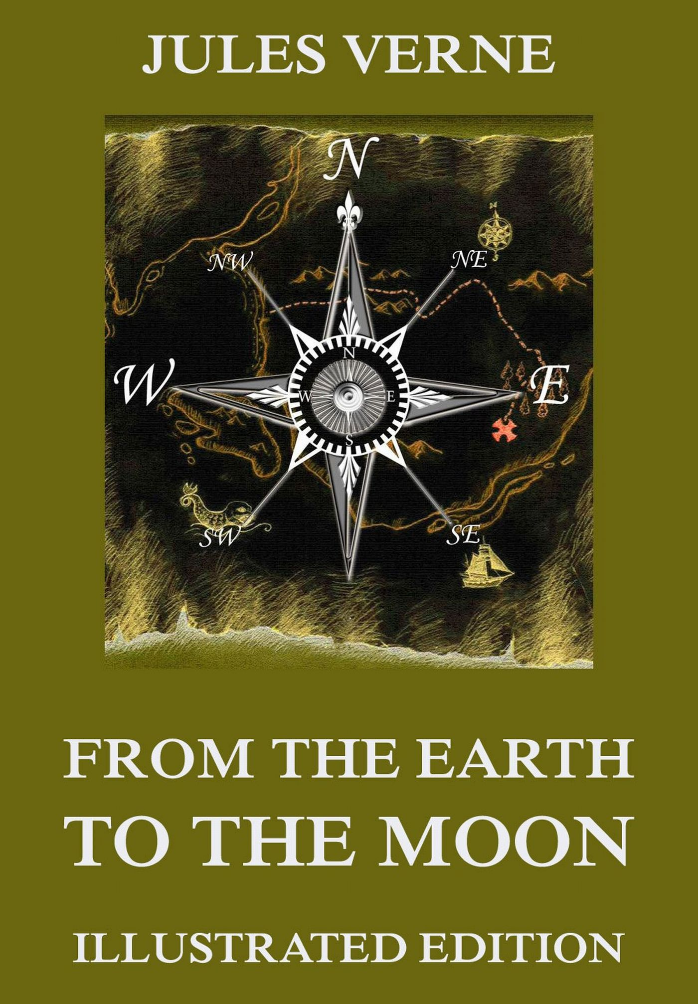 Жюль Верн From The Earth To The Moon teachings from the american earth – indian religion