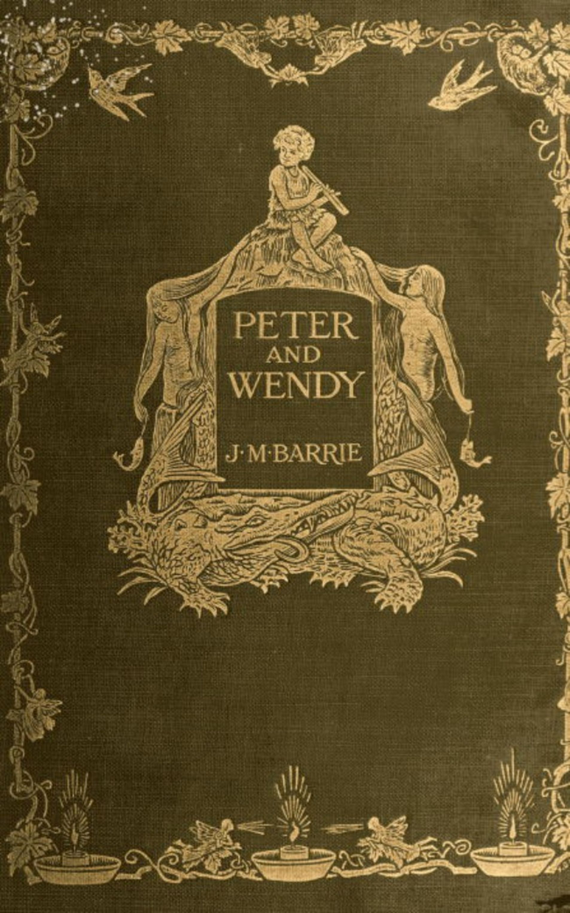 J. M. Barrie Peter Pan or Peter and Wendy