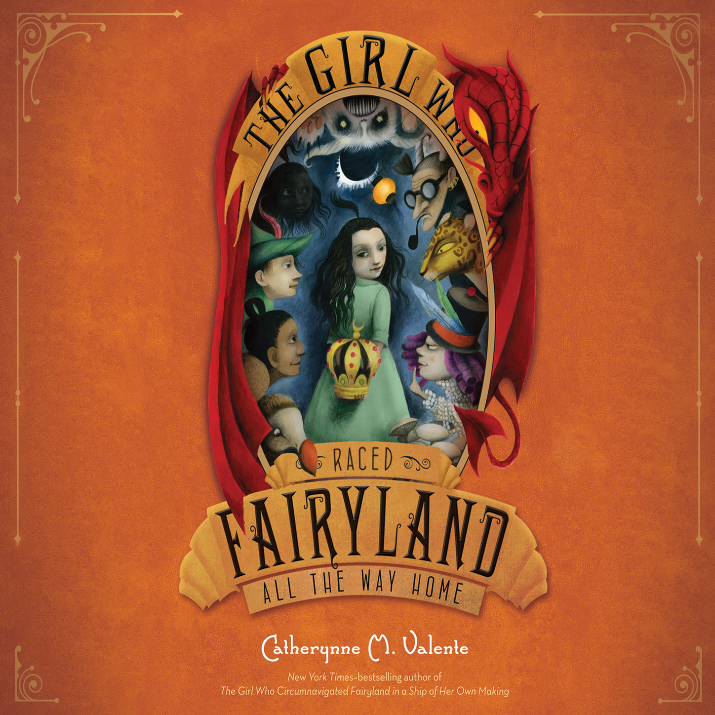 Catherynne M. Valente The Girl Who Raced Fairyland All the Way Home - Fairyland 5 (Unabridged) m w roman down the witches way