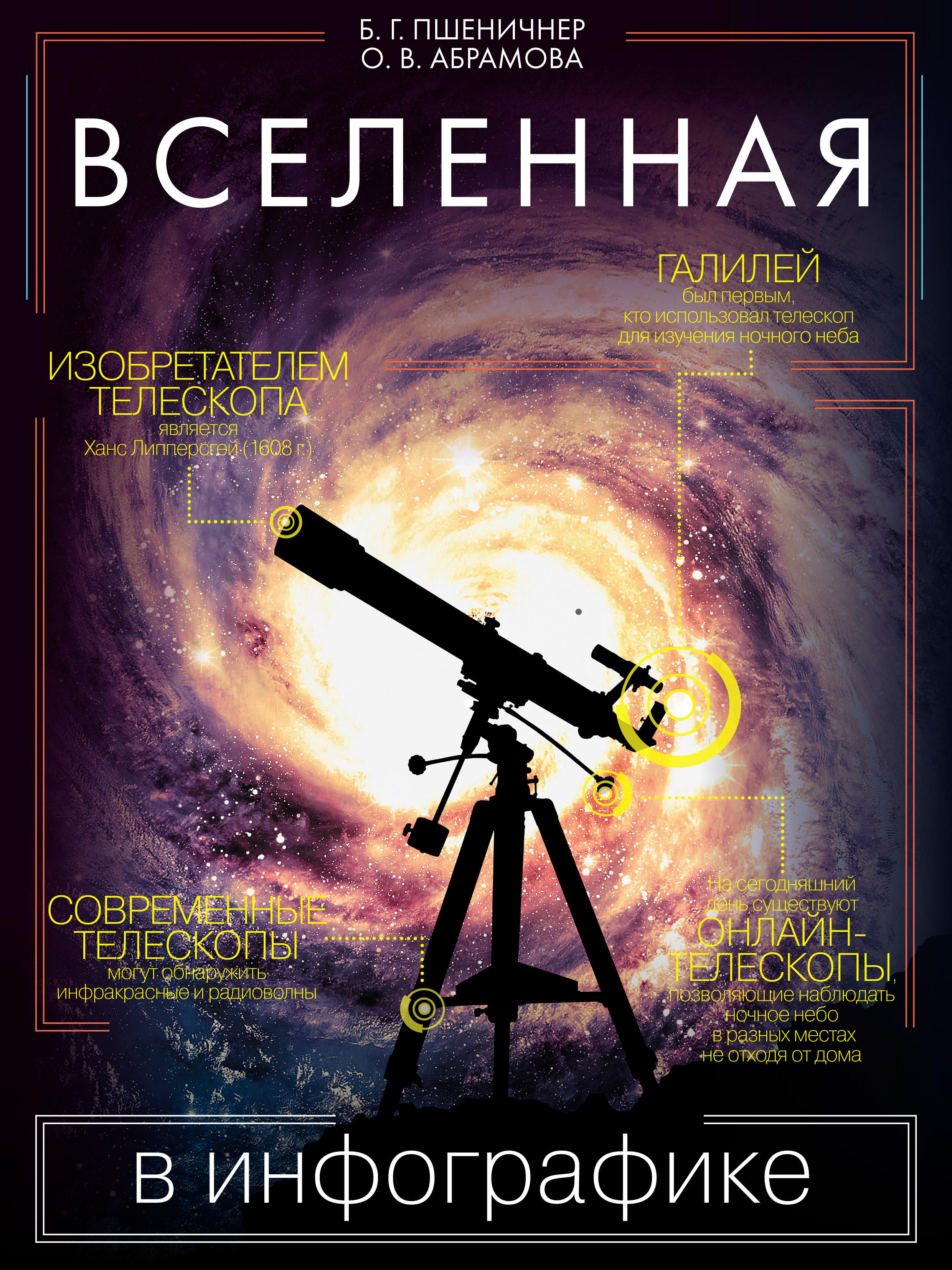 Оксана Абрамова Вселенная в инфографике оксана абрамова вселенная