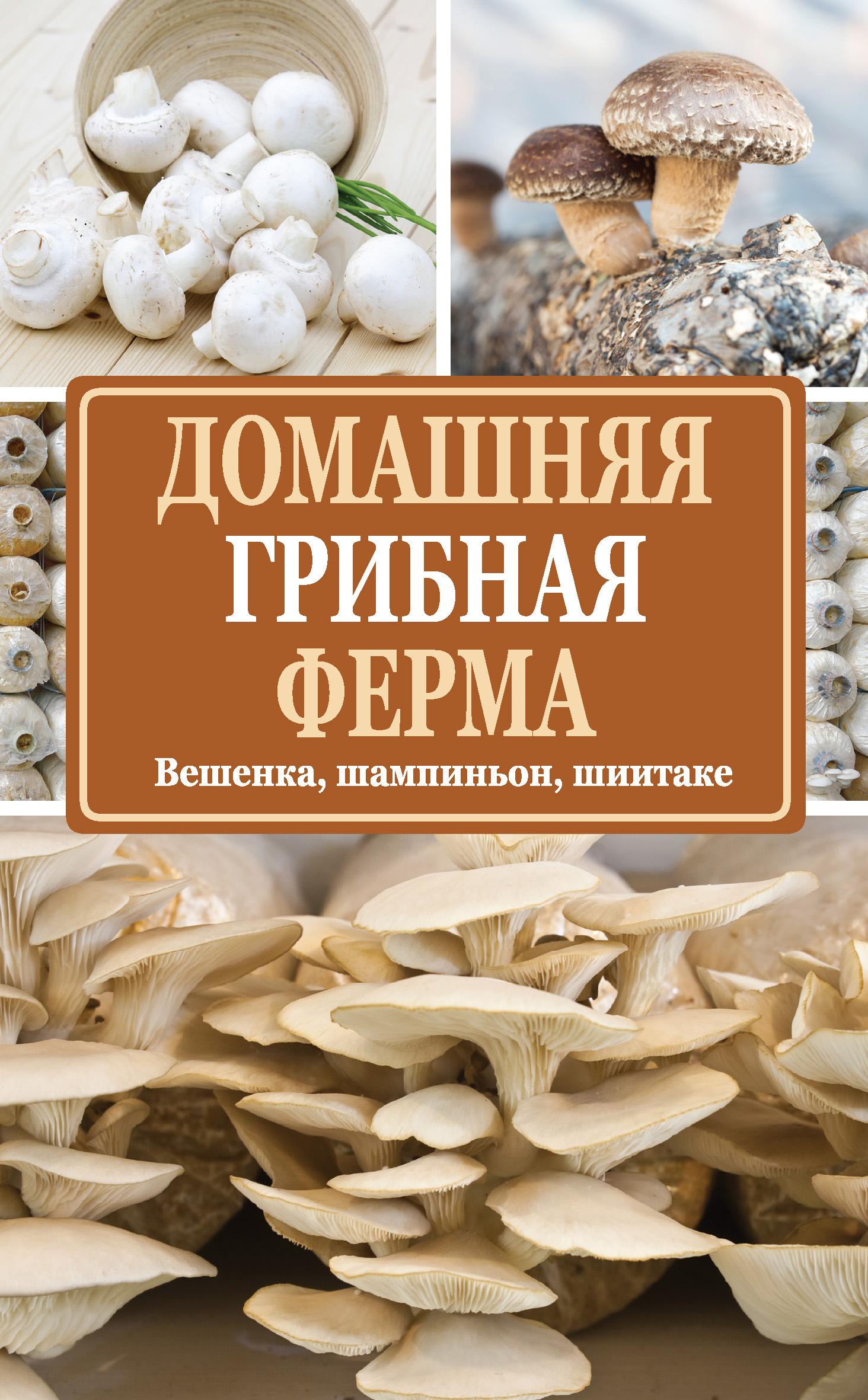Нина Богданова Домашняя грибная ферма. Вешенка, шампиньон,