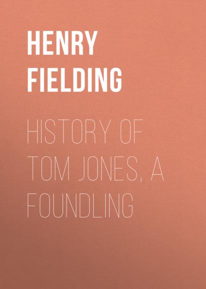 Генри Филдинг History of Tom Jones, a Foundling fielding h the history of tom jones a foundling i история тома джонса i