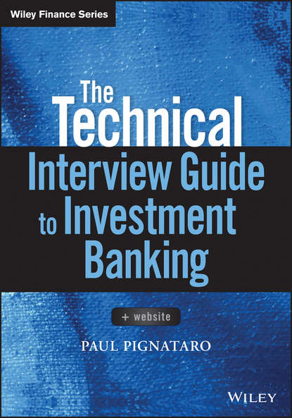 Paul Pignataro The Technical Interview Guide to Investment Banking the chicks with sticks guide to crochet