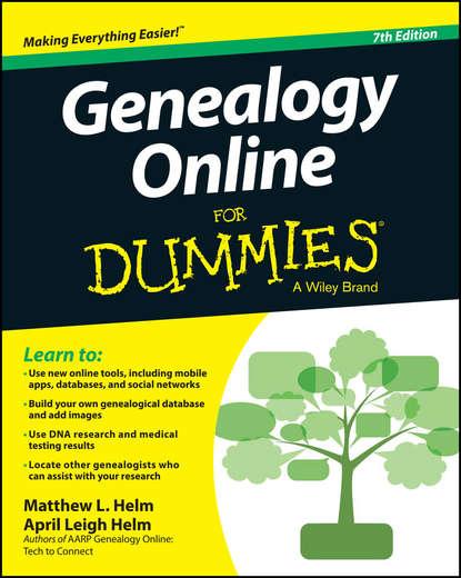 Genealogy Online For Dummies фото
