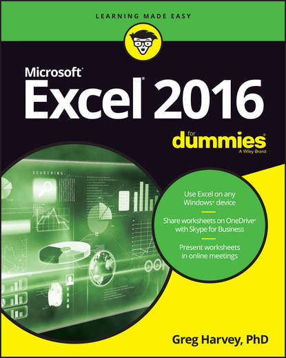 Greg Harvey Excel 2016 For Dummies greg harvey excel 2010 all in one for dummies