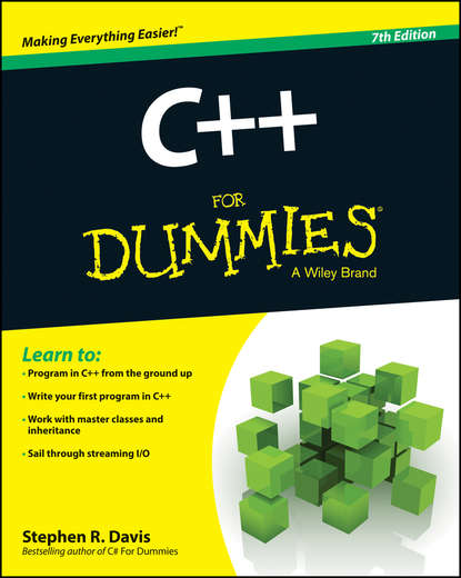 Stephen Davis R. C++ For Dummies ben kench selling for dummies