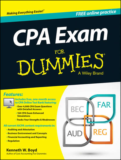 Kenneth Boyd W. CPA Exam For Dummies gail a perry cpa quicken all in one desk reference for dummies