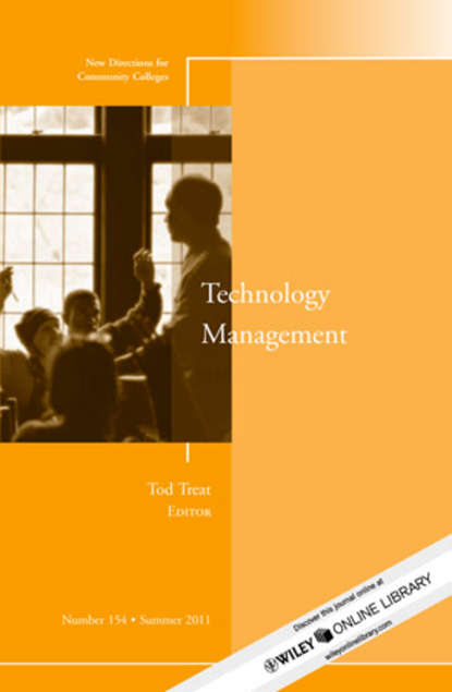 Tod Treat Technology Management. New Directions for Community Colleges, Number 154 oscar mmbali empowering the community for effective environment management