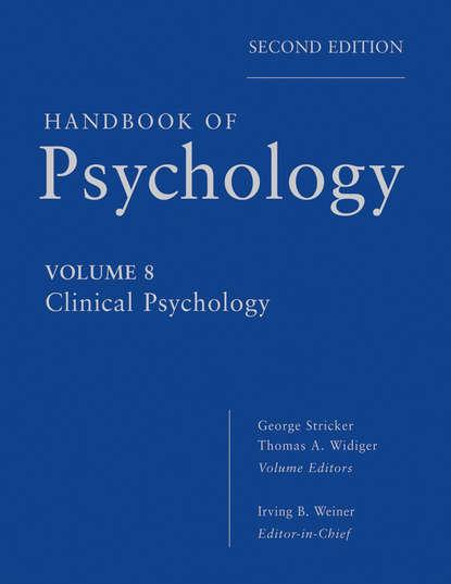 George Stricker Handbook of Psychology, Clinical Psychology кеды сникеры la redoute с крокодиловым принтом 38 желтый
