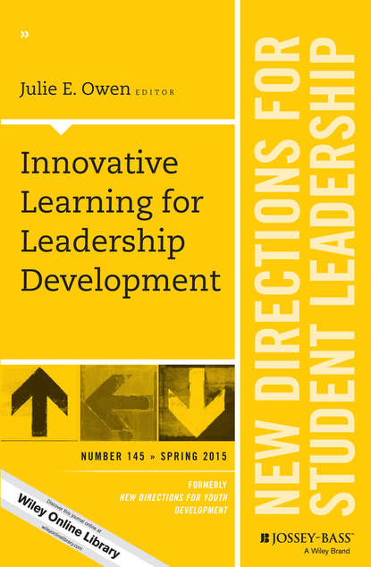 Julie Owen E. Innovative Learning for Leadership Development. New Directions for Student Leadership, Number 145 leadership and genocidal violence in rwanda