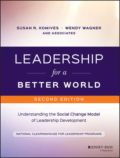 Wendy Wagner Leadership for a Better World. Understanding the Social Change Model of Leadership Development john dugan p leadership theory facilitator s guide for cultivating critical perspectives