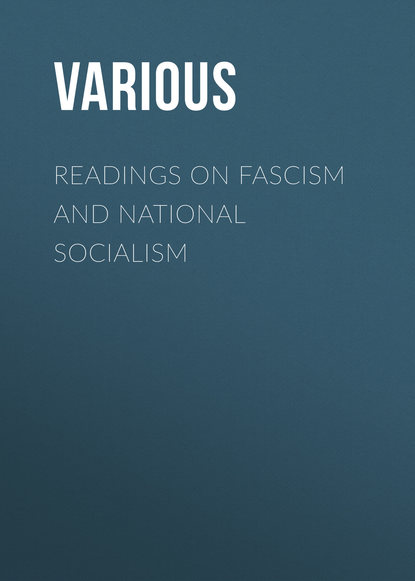 Various Readings on Fascism and National Socialism недорого