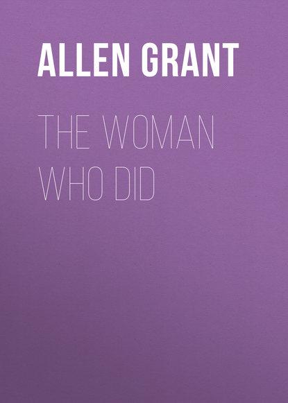 Allen Grant The Woman Who Did allen grant strange stories