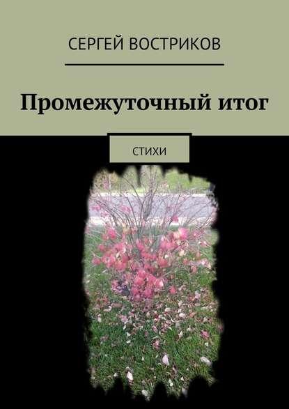 Сергей Востриков Промежуточныйитог. Стихи сергей востриков отпервоголица стихи