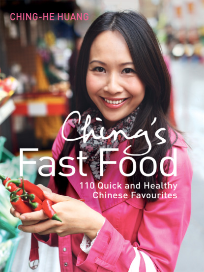 Ching-He Huang Ching's Fast Food: 110 Quick and Healthy Chinese Favourites chinese food dishes book chinese pasta chinese cooking book for cooking food recipes free shipping