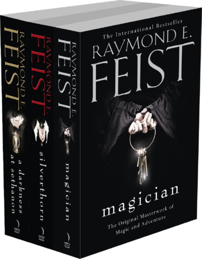 Фото - Raymond E. Feist The Riftwar Saga Series Books 2 and 3: Silverthorn, A Darkness at Sethanon raymond e feist magician s end the chaoswar saga book 3