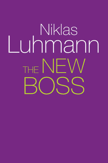 Niklas Luhmann The New Boss