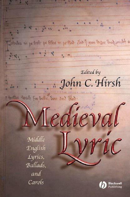 John Hirsh C. Medieval Lyric british museum origami poems and pictures