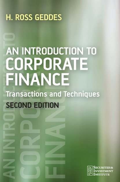 Группа авторов An Introduction to Corporate Finance reconciling family work the role of corporate citizenship