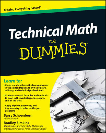 Фото - Barry Schoenborn Technical Math For Dummies mark zegarelli basic math and pre algebra