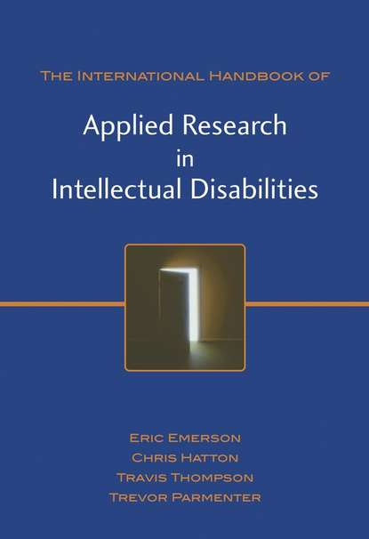 Eric Emerson International Handbook of Applied Research in Intellectual Disabilities methods of microleakage evaluation on the horizon