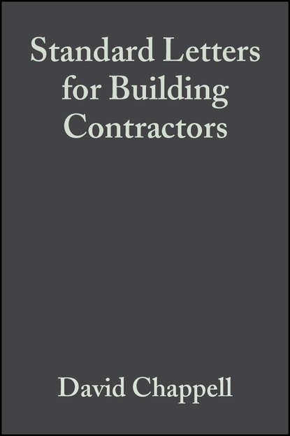 David Chappell Standard Letters for Building Contractors blaise pascal letters and other minor works