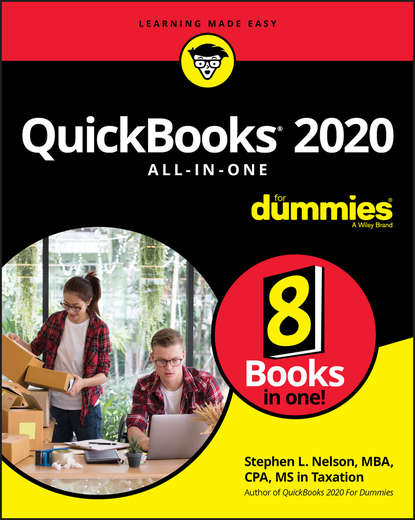 Stephen L. Nelson QuickBooks 2020 All-in-One For Dummies stephen l nelson quickbooks 2018 for dummies isbn 9781119397403