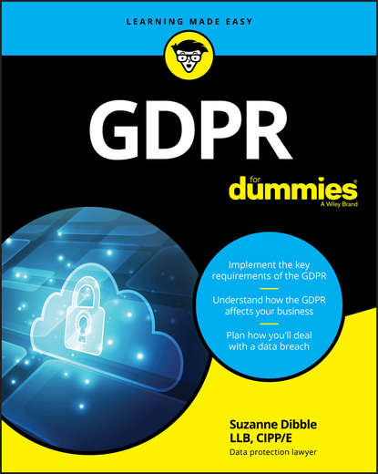 купить Suzanne Dibble GDPR For Dummies в интернет-магазине