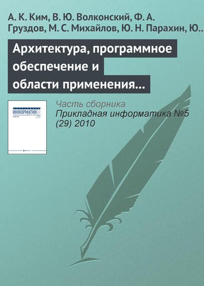 А. К. Ким Архитектура, программное обеспечение и области применения компьютеров серии «Эльбрус»