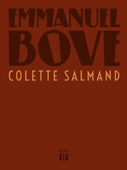 Emmanuel Bove Colette Salmand недорого