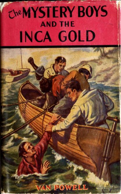 Van Powell The Mystery Boys and the Inca Gold timothy powell gilda's and glen's geese nest