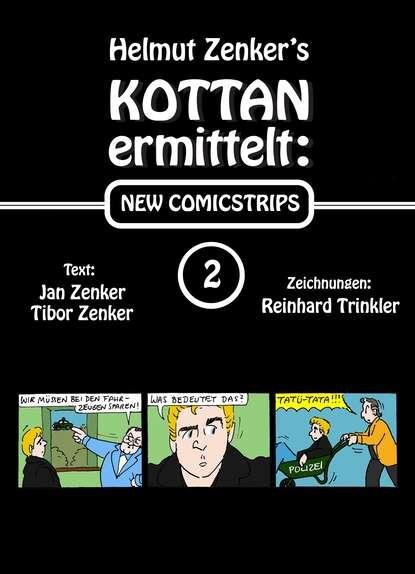 Фото - Helmut Zenker Kottan ermittelt: New Comicstrips 2 helmut zenker kottan ermittelt new comicstrips 1