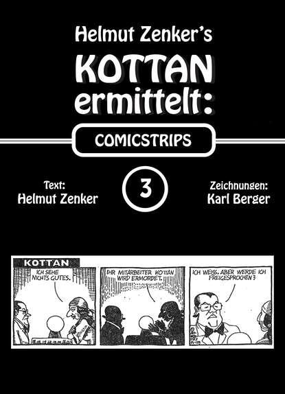 Фото - Helmut Zenker Kottan ermittelt: Comicstrips 3 helmut zenker kottan ermittelt new comicstrips 1