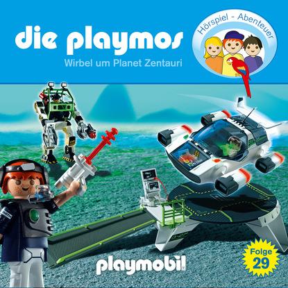 Simon X. Rost Die Playmos - Das Original Playmobil Hörspiel, Folge 29: Wirbel um Planet Zentauri недорого