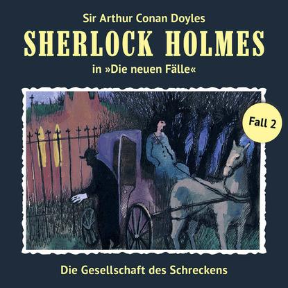 eckhard bausch die spur der weißen kreise Marc Freund Sherlock Holmes, Die neuen Fälle, Fall 2: Die Gesellschaft des Schreckens