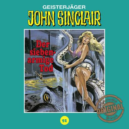 Jason Dark John Sinclair, Tonstudio Braun, Folge 92: Der siebenarmige Tod (Ungekürzt) jason dark john sinclair tonstudio braun folge 53 liebe die der teufel schenkt