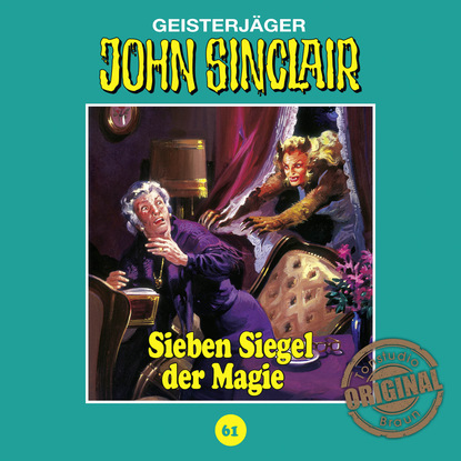 Jason Dark John Sinclair, Tonstudio Braun, Folge 61: Sieben Siegel der Magie. Teil 1 von 3 jason dark john sinclair tonstudio braun folge 2 der schwarze henker