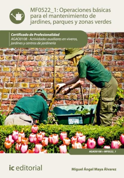 Miguel Ángel Maya Álvarez Operaciones básicas para el mantenimiento de jardines, parques y zonas verdes. AGAO0108 miguel ángel maya álvarez caracterización y control de plagas en áreas edificadas y ajardinadas seag0110