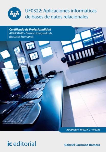 Фото - Gabriel Carmona Romera Aplicaciones informáticas de bases de datos relacionales. ADGD0208 antonio luís cardador cabello desarrollo de aplicaciones web distribuidas ifcd0210