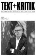 TEXT + KRITIK 226 - Ulrich Peltzer