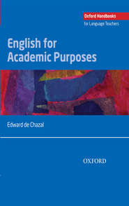 English for Academic Purposes