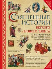 Священные истории Ветхого и Нового Завета: с нравоучениями и благочестивыми размышлениями