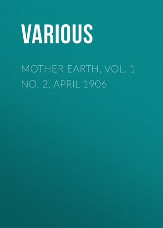 Various, Mother Earth, Vol  1 No  2, April 1906 – читать