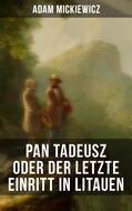Pan Tadeusz oder Der letzte Einritt in Litauen