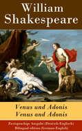 Venus und Adonis \/ Venus and Adonis - Zweisprachige Ausgabe (Deutsch-Englisch) \/ Bilingual edition (German-English)