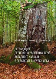 Деградация дерново-карбонатных почв Западного Кавказа в результате вырубки леса